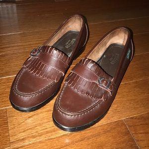 Women's Vintage Eastland Buckle Kiltie Loafer Shoe